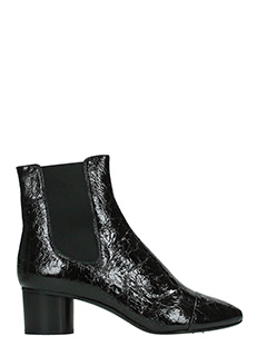 Isabel Marant-Danae black leather ankle boots