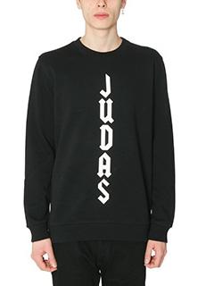 Givenchy-Felpa Judas in cotone nero