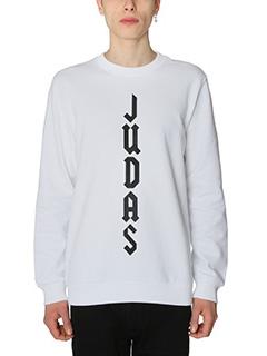 Givenchy-Felpa Judas in cotone bianco