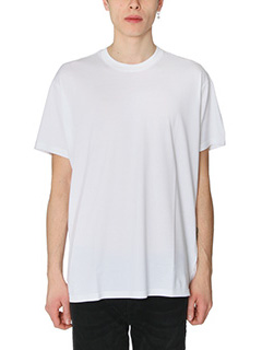 Givenchy-T-Shirt Basic Over in cotone bianco