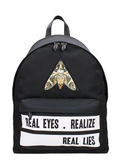 Givenchy-Zaino Real Eyes  in nylon nero