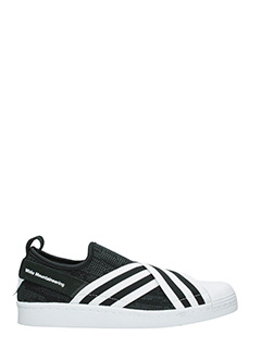 Adidas by White Mountaineering-Sneakers Slip On Superstar in primeknit nero