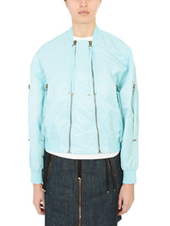 Kenzo-Bomber Elevated Bomber in nylon celeste