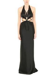 Alexander Wang-black Tech/synthetic dress