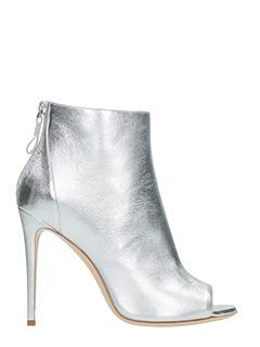 Dei Mille-Tronchetti in pelle silk platino