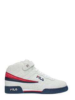 Fila-Sneakers  F13 Ps in camoscio grigio
