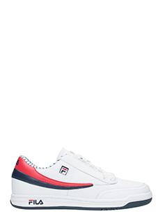 Fila-Sneakers  Original Tennis  in pelle bianca rossa blue
