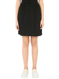 Kenzo-black polyester skirt