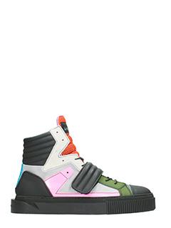 Gienchi-Sneakers Hypnos in gomma  e tessuto multicolor-lacci