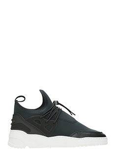 Filling Pieces-Sneakers Astro Runner in tessuto tecnico nero