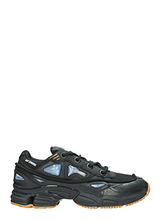 Adidas By Raf Simons-Sneakers  Ozweego Bunny in pelle nera
