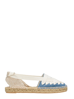 Castaner-Espadrillas Jean in denim blu