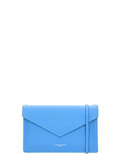Lancaster-Pochette Element Clutch Air in pelle blue