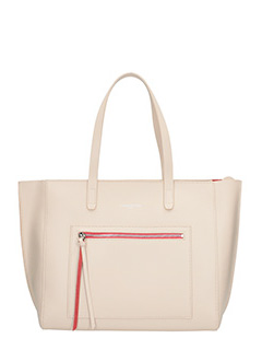 Lancaster-Borsa Pur Smooth in pelle nude