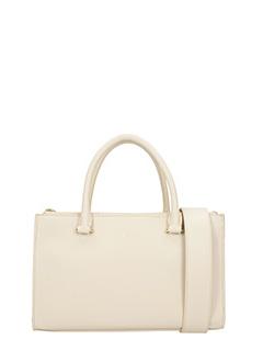 Lancaster-Borsa Camelia Handle Bag  in pelle nude