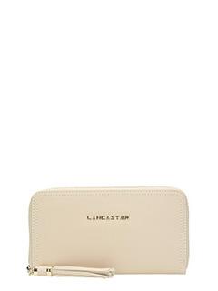 Lancaster-Ana beige leather wallet