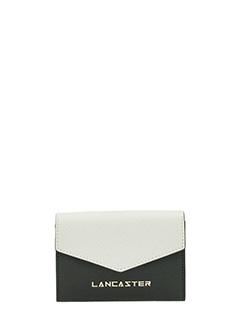 Lancaster-Adeline black leather wallet