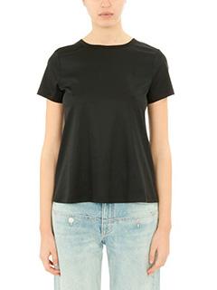 Helmut Lang-black cotton t-shirt