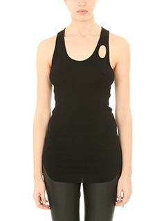 Helmut Lang-Top in cotone nero