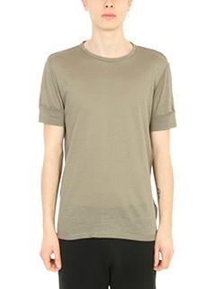 Maison Margiela-T-Shirt   in cotone verde