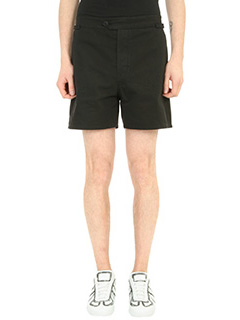 Maison Margiela-Shorts in cotone nero