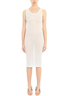 Givenchy-Vestito in jersey bianco