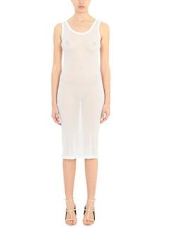 Givenchy-Robe white cotton dress