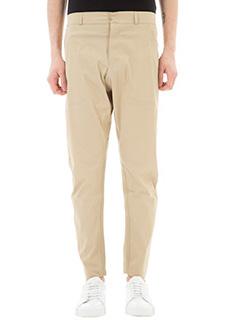 Monobi-Pantaloni Easypant in nylon beige