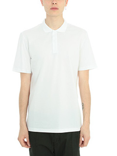 Low Brand-Polo P2 in cotone bianco