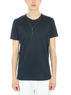 Low Brand-T-shirt B49 in cotone blu