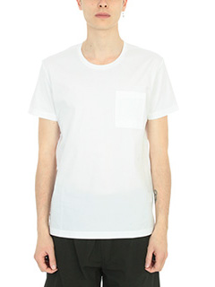 Low Brand-T-shirt B33 in cotone bianco