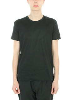 Low Brand-T-shirt Basic in cotone nero