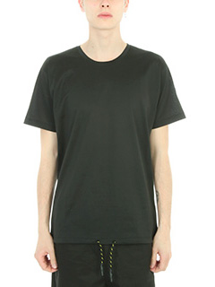 Low Brand-T-shirt in cotone nero