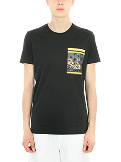 Low Brand-T-shirt Palms in cotone nero