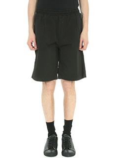 Low Brand-Shorts T4.23 in cotone nero