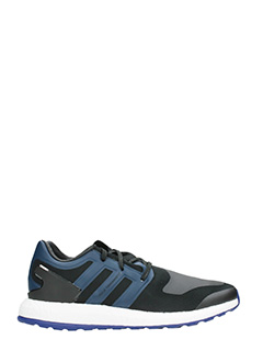 Y-3-Sneakers running Pureboost in pelle blu
