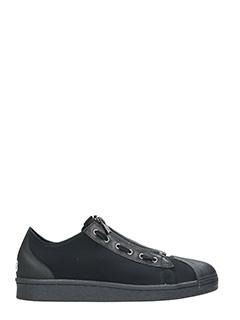 Y-3-Sneakers Super Zip in tessuto tecnico nero
