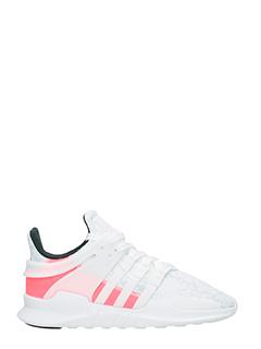 Adidas-Sneakers Etq support adv in tessuto tecnico bianco