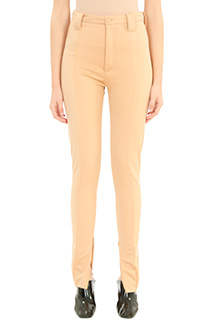 Balenciaga-orange polyamide pants