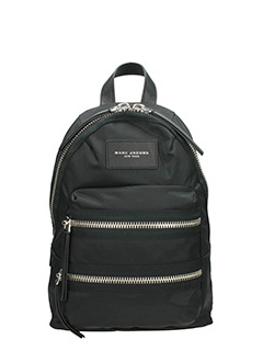 Marc Jacobs-Zaino Biker  Mini Backpack in nylon nera