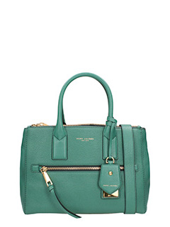 Marc Jacobs-Borsa Recruit Ew Tote in pelle verde