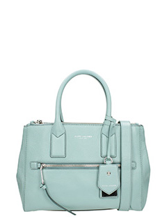 Marc Jacobs-Borsa Recruit Ew Tote in pelle celeste