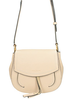 Marc Jacobs-Borsa Mini Maverick Shoulder in pelle beige