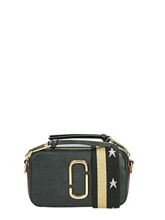 Marc Jacobs-Borsa Snapshot Camera bag in pelle nera