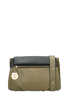 Marc Jacobs-Borsa The Standard Shoulder in pelle nera mility