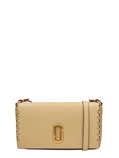 Marc Jacobs-Borsa Noho Small Crossbody in pelle sand