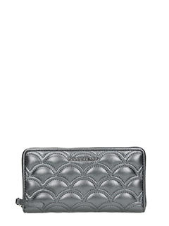 Marc Jacobs-Portafoglio Standard Continental in pelle antracite