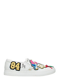 Marc Jacobs-Sneakers Mercer Slip on in pelle bianca