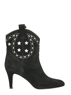 Marc Jacobs-Tronchetti Georgia in suede nero