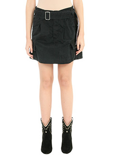 Marc Jacobs-Gonna Cargo in cotone nero